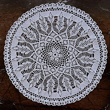 """Úžitkový textil - Čipka """" Chryzantéma"""" - 11261872_"""