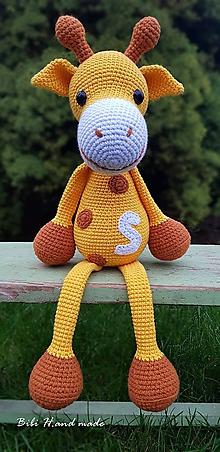 Hračky - Veselá Žirafka... - 11261522_