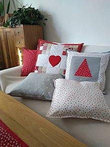 Úžitkový textil - Vianočné vankúše - 11261056_