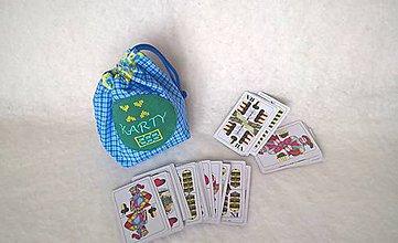 Detské tašky - Vrecúčko na hracie karty a iné drobnosti - 11259389_