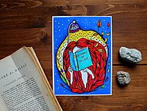 Kresby - Čítam Balzaca - 11259871_