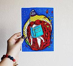Kresby - Čítam Balzaca - 11259870_