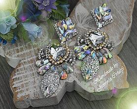 Náušnice - Wedding heart - 11258763_