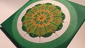 Obrazy - Mandala z piesku Brigantia - 11259167_