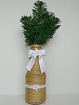 Dekorácie - Vianočná váza ❄❄❄ - 11262079_