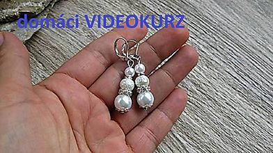 Kurzy - Domáci VIDEOKURZ aj s materiálom - vyrob si perlové náušnice - 11259364_