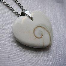Náhrdelníky - Srdce Shiva eye - 11261502_