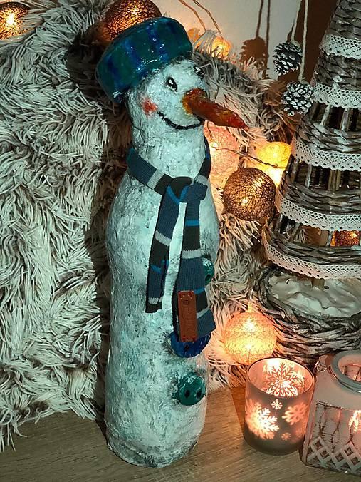 Snehuliak Jonatán - socha