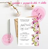 Papiernictvo - Svadobné oznámenie S42 - 11259762_