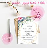 Papiernictvo - Svadobné oznámenie S48 - 11259931_