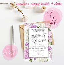 Papiernictvo - Svadobné oznámenie S47 - 11259855_