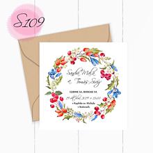 Papiernictvo - Svadobné oznámenie S109 - 11260197_
