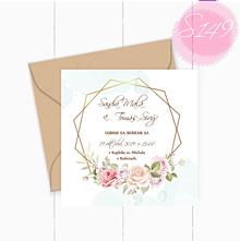 Papiernictvo - Svadobné oznámenie S149 - 11260239_