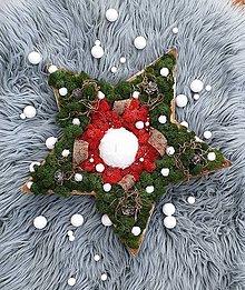 Svietidlá a sviečky - Vianočná hviezda - 11262019_