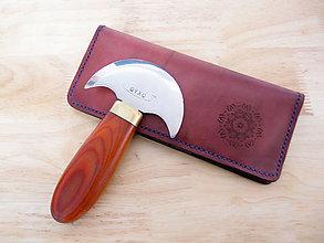Peňaženky - Púzdro na doklady , karty (Meď/Bronz) - 11260338_