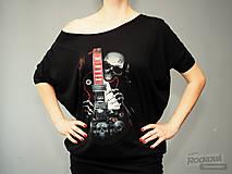 """Tuniky - Tunika BadGirl """"Skull&Guitar"""" - 11262971_"""
