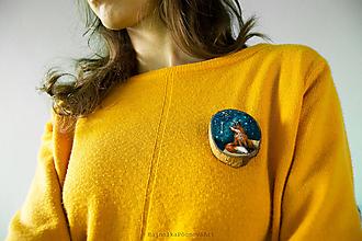 Odznaky/Brošne - Brošňa: Súhvezdie Malá líška - 11258848_