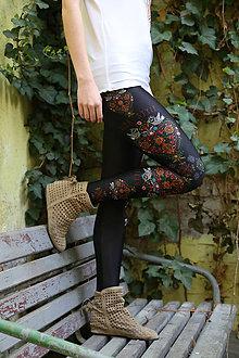 Nohavice - Ľudovky - čierne - 11261342_