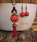 Sady šperkov - Bodkovaná bábika // set - 11262656_