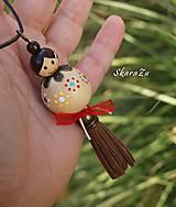 Sady šperkov - Guličková bábika kvetinková - 11262741_
