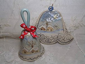 Dekorácie - keramika ..zvonček.. - 11261435_