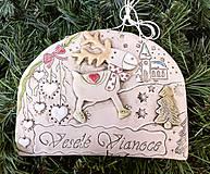 Tabuľky - Vianočná tabuľka - 11261835_