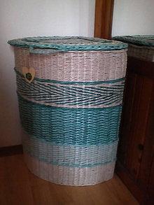 Košíky - Kôš na prádlo rohový - 11260040_