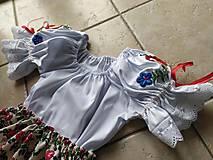 Detské súpravy - Goralský dievčenský kroj - 11262036_
