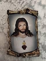 Magnetky - magnetka Ježiš - 11265824_