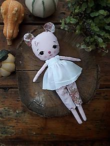 Hračky - zvieratko bábika - 11264940_