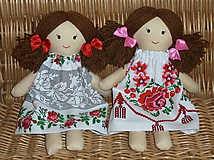 Hračky - Bábiky Elenka a Alenka - 11266364_