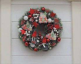 Dekorácie - Vianočný veniec - 11266618_