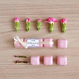 Svietidlá a sviečky - Sladké kvetinky - aróma - 11267072_