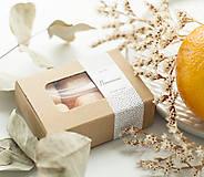 Svietidlá a sviečky - Pomaranč - silica - 11267996_