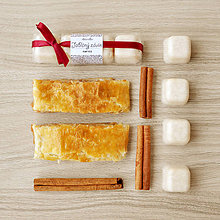 Svietidlá a sviečky - Jablčný závin - aróma - 11267878_