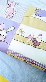 Úžitkový textil - Detská posteľná bielizeň - 11262983_