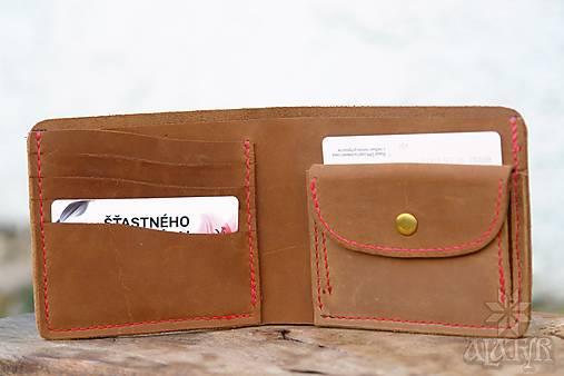 Kožená peňaženka VI. hnedá