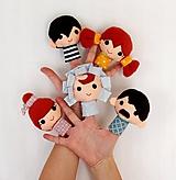 Sada maňušiek na prst - Finger Family - na objednávku