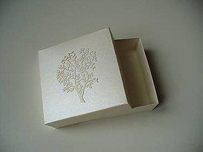 Krabičky - perleťová krabička/ strom života - 11264330_