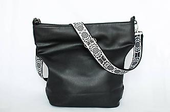 Iné tašky - Folk popruh na kabelku z autorskej dizajnovej látky  (Vzor č. 2 - Región Záhorie 3) - 11267808_