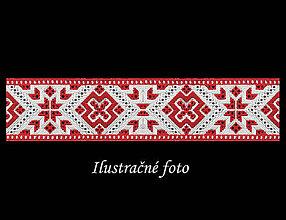 Iné tašky - Folk popruh na kabelku z autorskej dizajnovej látky  (Vzor č. 8 - Región Horné Považie) - 11267835_