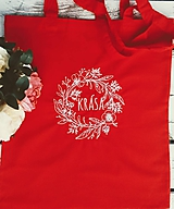 Nákupné tašky - Kvalitná bavlnená taška...Krása - 11263188_