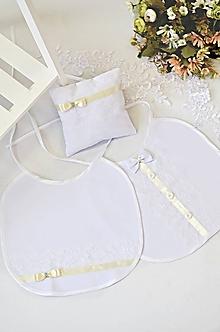 Darčeky pre svadobčanov - Svadobný podbradník ONA a ON - 11265249_