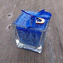Svietidlá a sviečky - Palmová sviečka s dreveným knôtom .:štavnaté hrozno:. - 11263544_