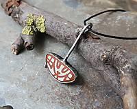 Náhrdelníky - Čosi z mora (morský porcelán/keramika) - 11264987_