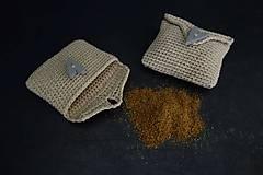 Potraviny - medovníkové korenie v háčkovanej taštičke - 11265268_