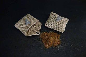 Potraviny - medovníkové korenie v háčkovanej taštičke - 11265270_
