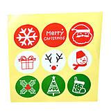 - Vianočné samolepky - 11262982_