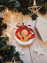 Dekorácie - Vianočná ozdoba - perník - 11264743_