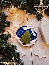 Dekorácie - Vianočná ozdoba - stromček - 11264779_